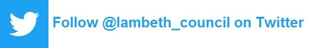 Follow @Lambeth_Council on Twitter
