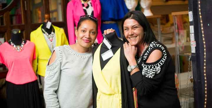 Women in a shop