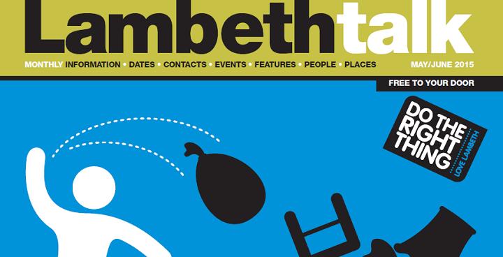 Lambeth Talk May/June 2015