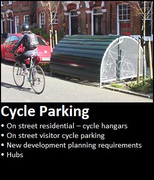 Lambeth Cycling - Cycle parking