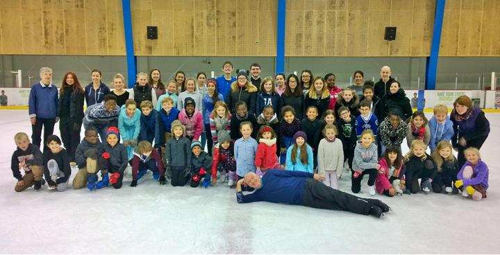 Streatham Learn to Skate Programme skaters