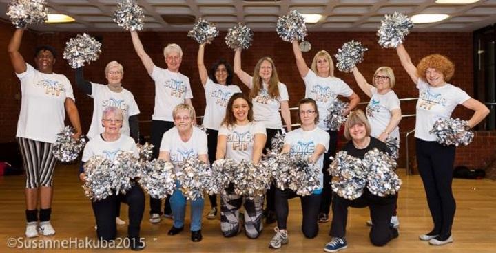 Silverfit Cheerleading in Brixton (Photo credit: Susanne Hakuba)