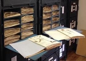 SLBI Herbarium cases