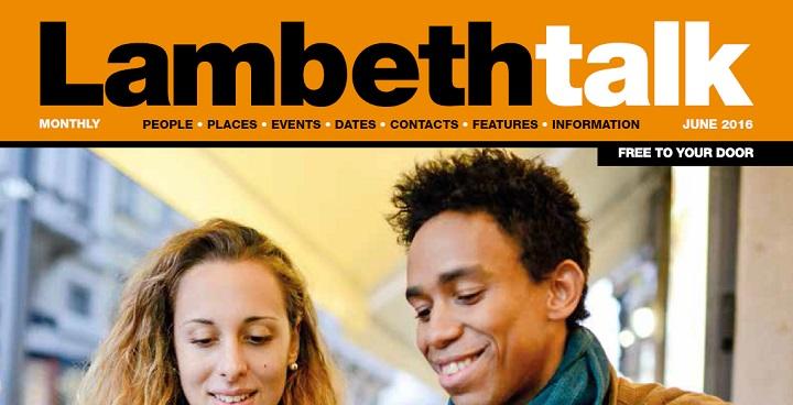 Lambeth Talk June 2016 front cover