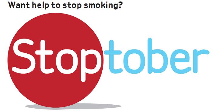 image of Stoptober logo