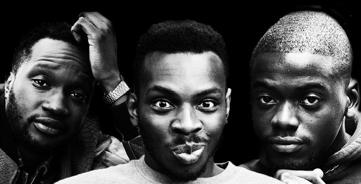 Arnold Oceng, Kayode Ewumi and Daniel Kaluuya