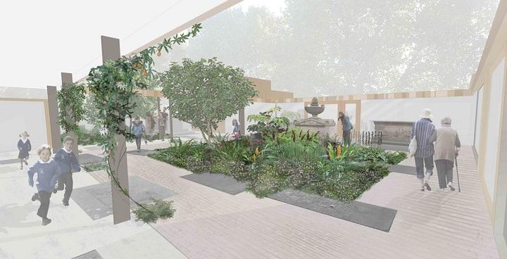 Dan Pearson's Central Garden