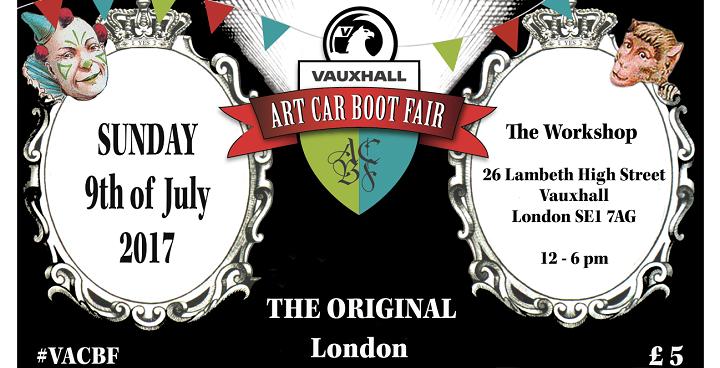 Car Boot Art Fair 720 x 368 | Love Lambeth