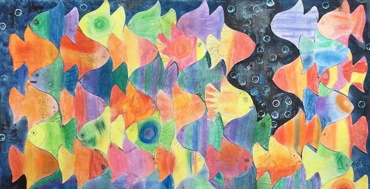 Wyvil Primary School children's art auction