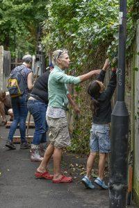 Volunteers taking part in a Community Freshview