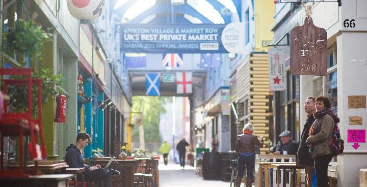 Brixton indoor Market