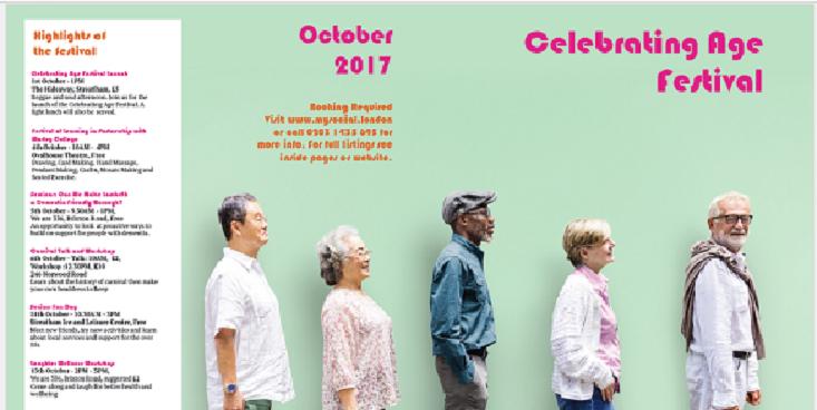 Celbrating Age October 2017 book events via MySocial