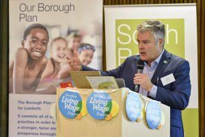 Here's Cllr Paul McGlone, deputy leader of Lambeth council.