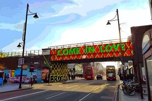 Brixton Road Bridge
