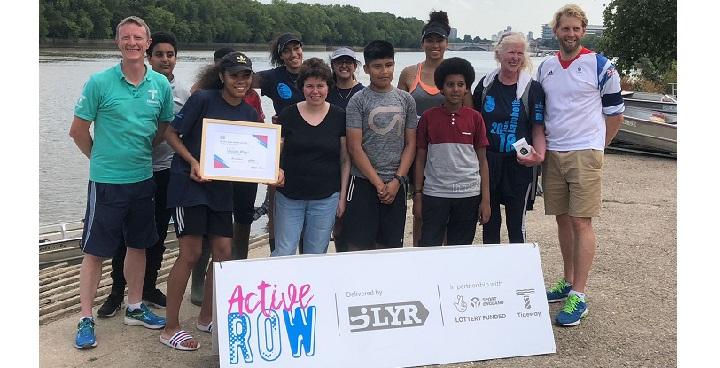 Brixton Rowers earn Resilience Award