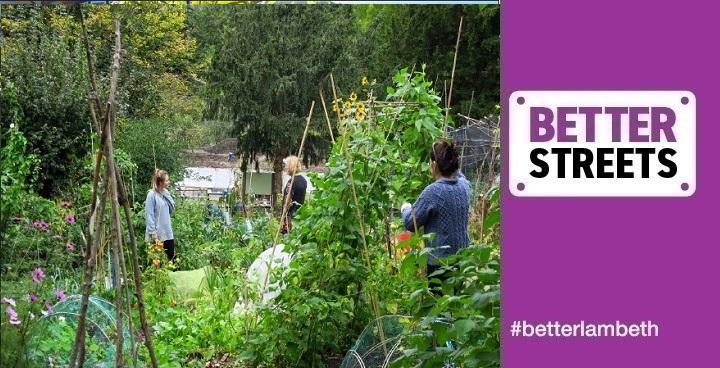 The Bothy, Streatham Common - joint winner 'Best Community Garden in a Park' 2018