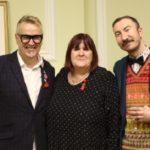 Dr Greg Usher (Metro), Lisa Power (Stonewall Founder), Cllr Philip Normal