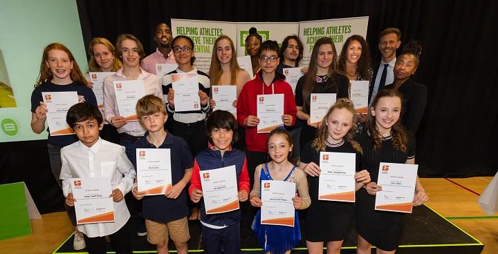 Lambeth athletes celebrate sports foundation awards