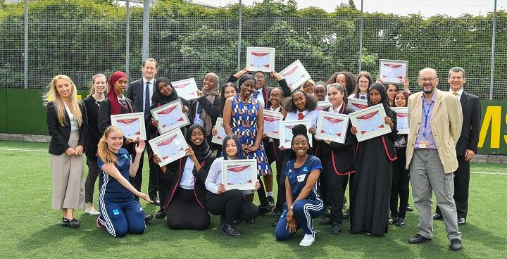 Lambeth students aim high with Street Elite