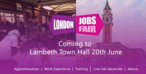 London Jobs Fair 2019 coming to Lambeth Town Hall June 20 2019