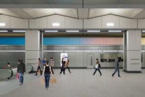 Nine elms underground station