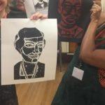 Natural History heroes printmaking workshop
