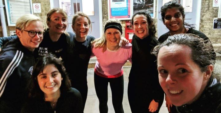 Run, Talk, Run for mental and physical health