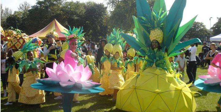 pineapple parade - community event