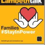 Lambeth Talk families cover