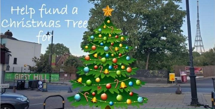 Crowdfund Lambeth helps fund community Christmas Tree for GipsyHill