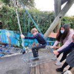 Trainge adventure playground