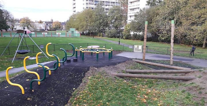 Lambeth adds extra playtime to Wyck Gardens