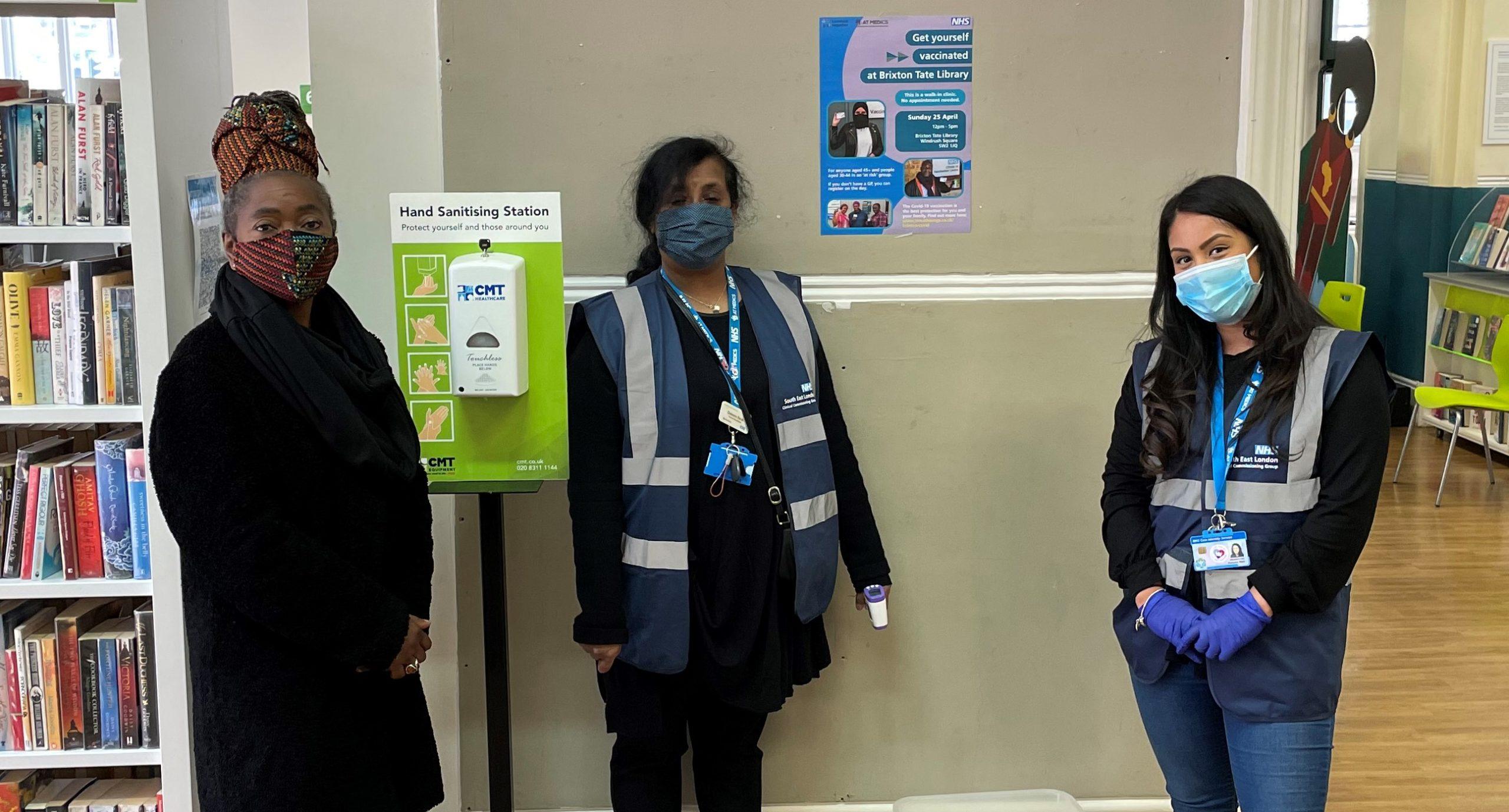 Lambeth: Walk-in Covid-19 vaccination clinics
