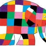 Elmer the multicoloured Elephant