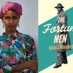 Author Nadifa Mohamed & book cover 'Fortune Men'