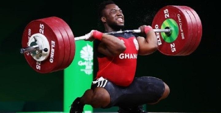 Foprrester Osei lifting weights