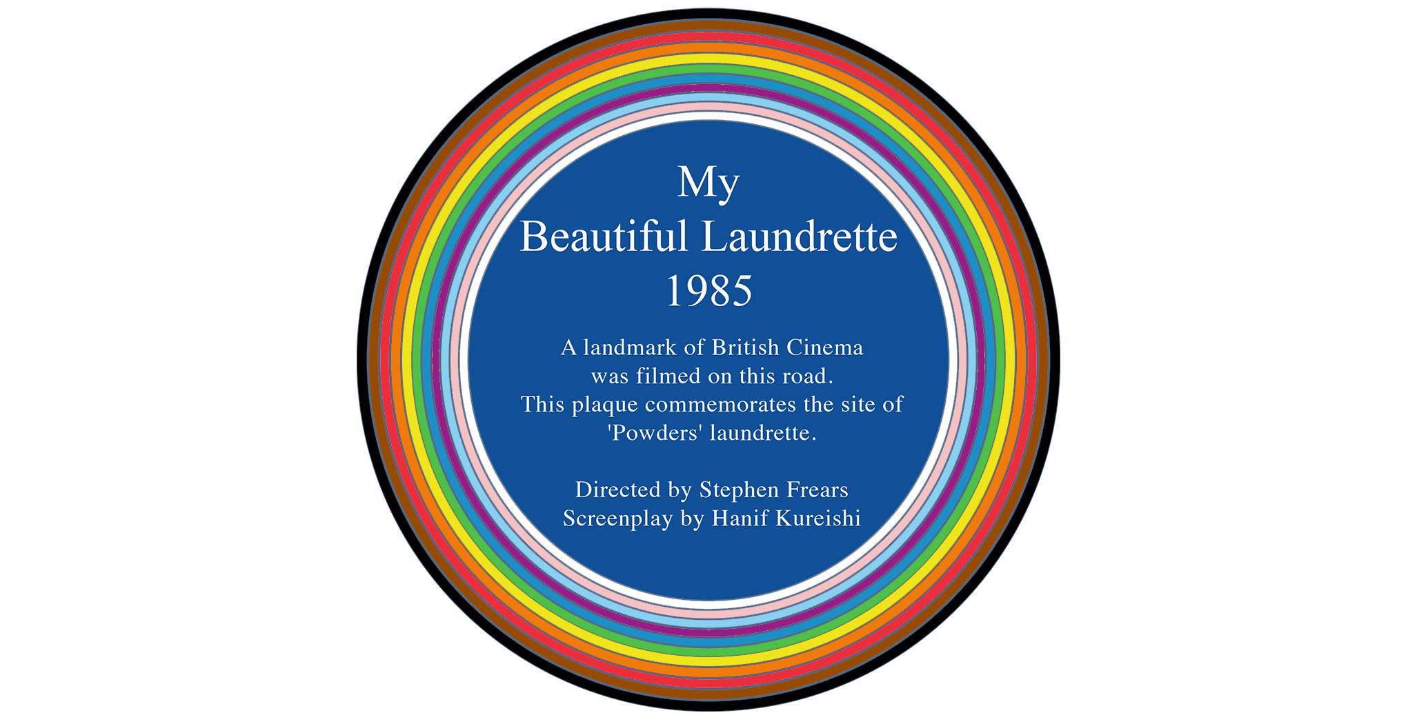 Vauxhall: New Rainbow Plaque dedicated to film, My Beautiful Laundrette