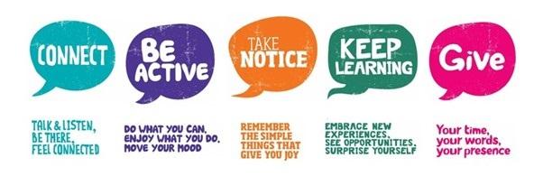 5 ways of wellbeing