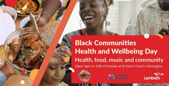 Black community health & wellbeing day