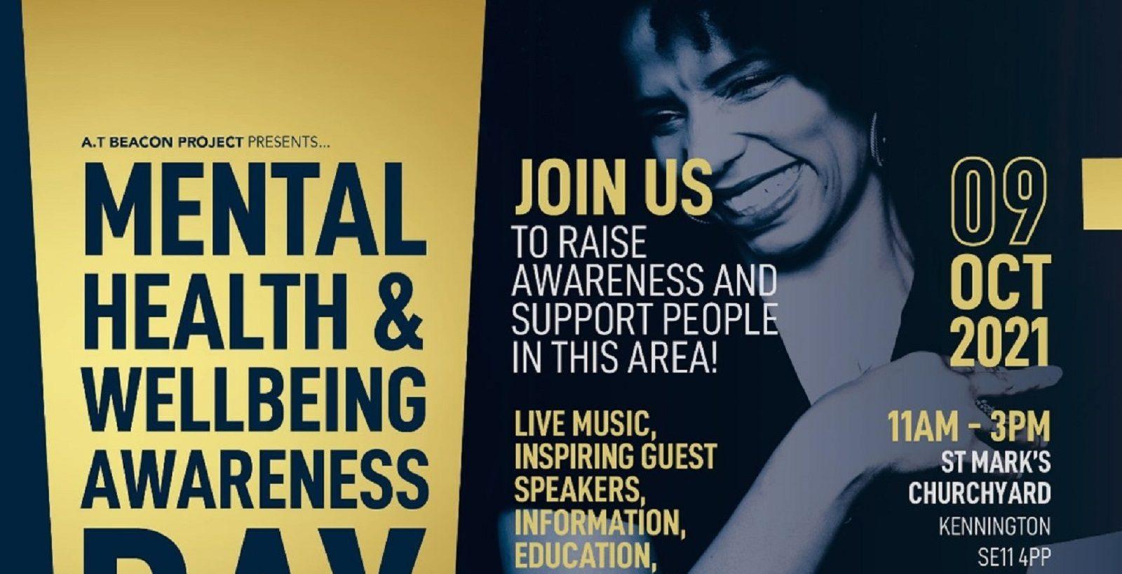 Mental Health event 9 October